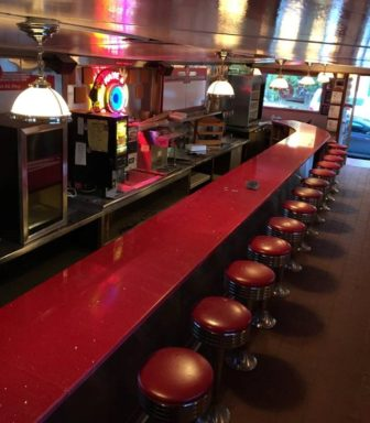 The newly renovated Red Arrow Diner