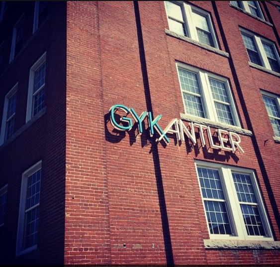The old Canal Street factory is now home to GYK Antler.