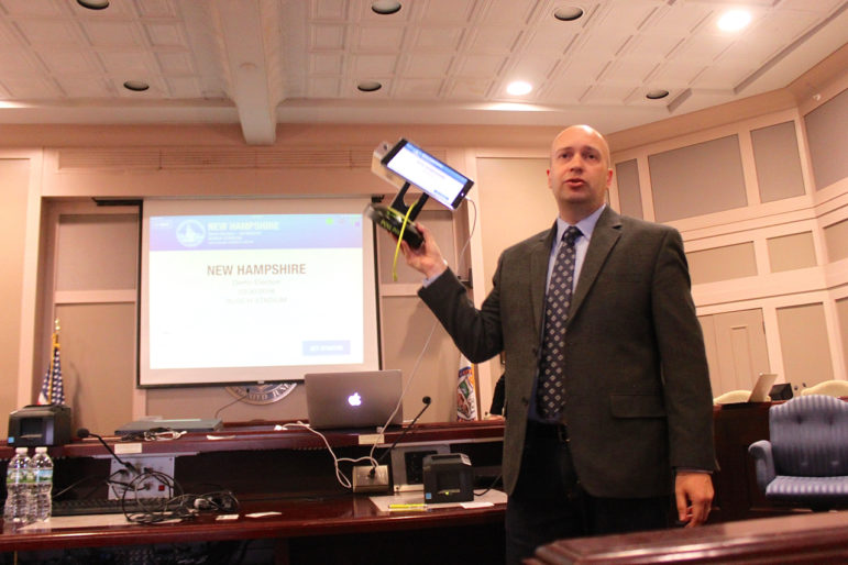 Scott Leiendecker, founder of KNOWiNK, explains how Poll Pad technology would transform the checklist process in NH.