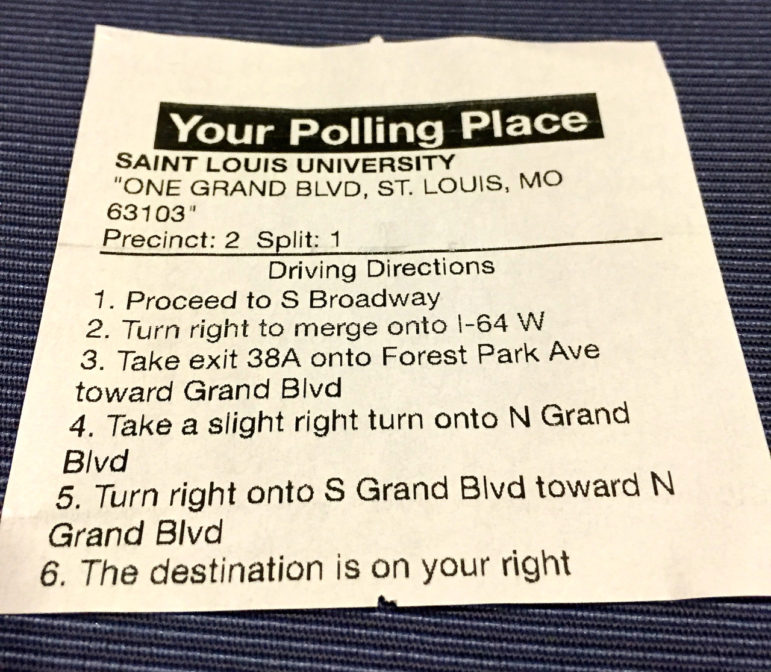 In the case of a misguided voter, the Poll Pad can send polling place directions directly to a smartphone, or print them out.
