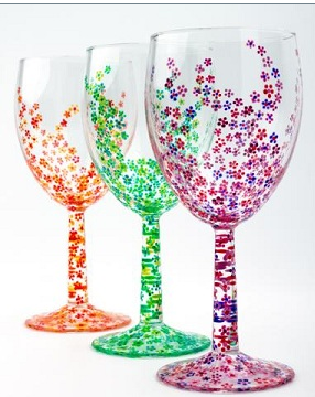 Mark Your Wine Glass Painting Calendar For Currier After