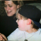 Carol Robidoux with her son, Bill.
