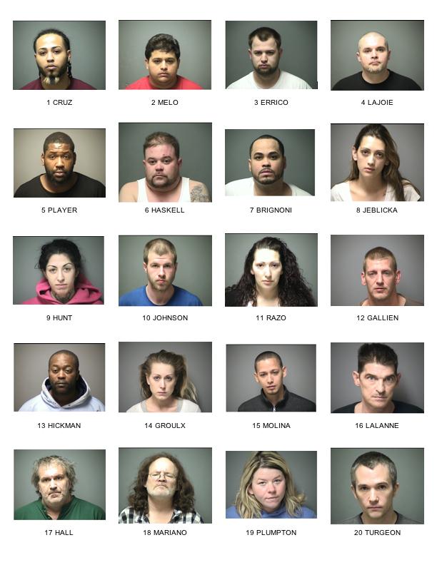 23 Arrests: 'Major' drug dealers caught in 'Operation