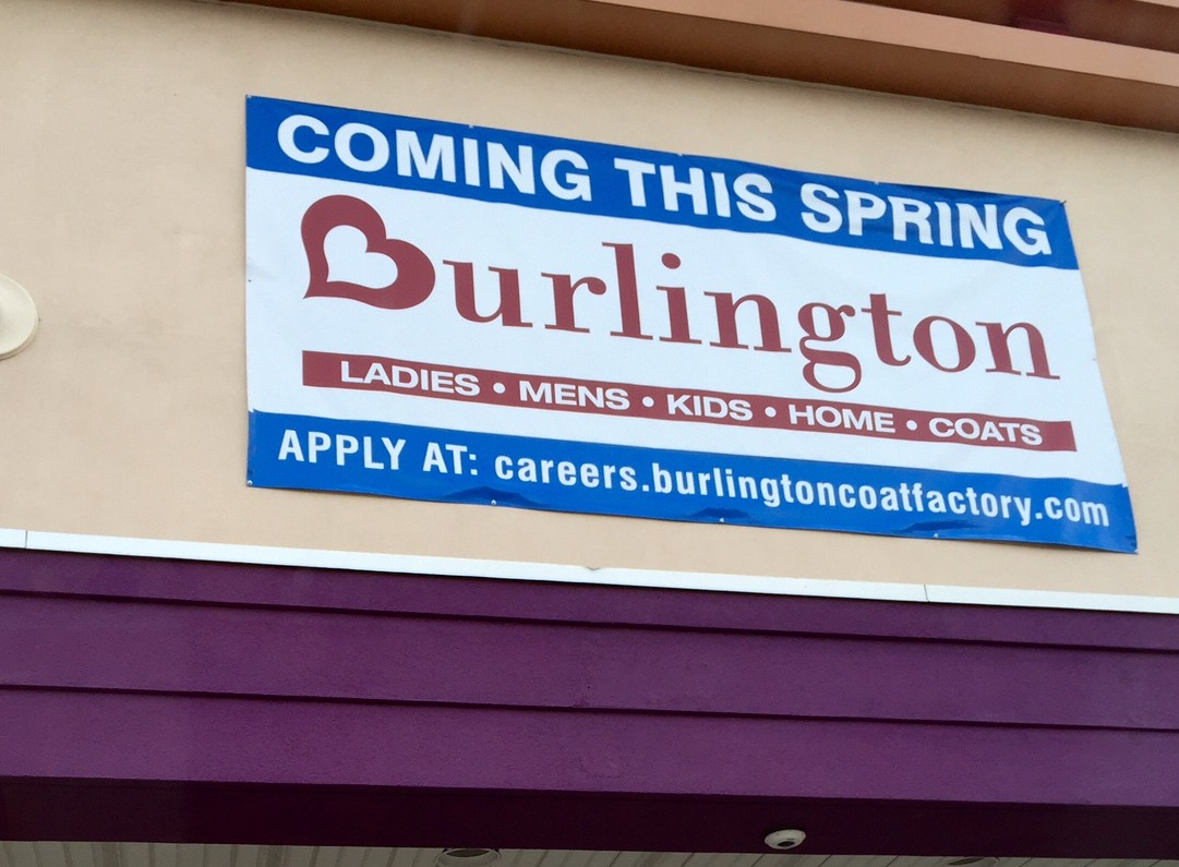 New life for old stop shop plaza as burlington stores for Michaels crafts pittsford plaza