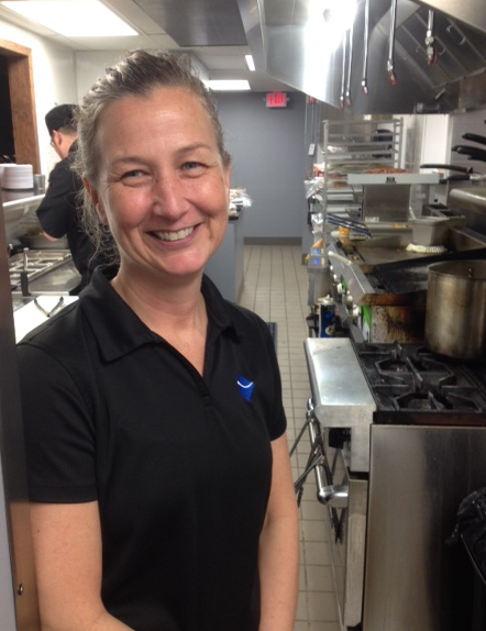 Keri Laman, owner of Waterworks Cafe and Bayona Cafe