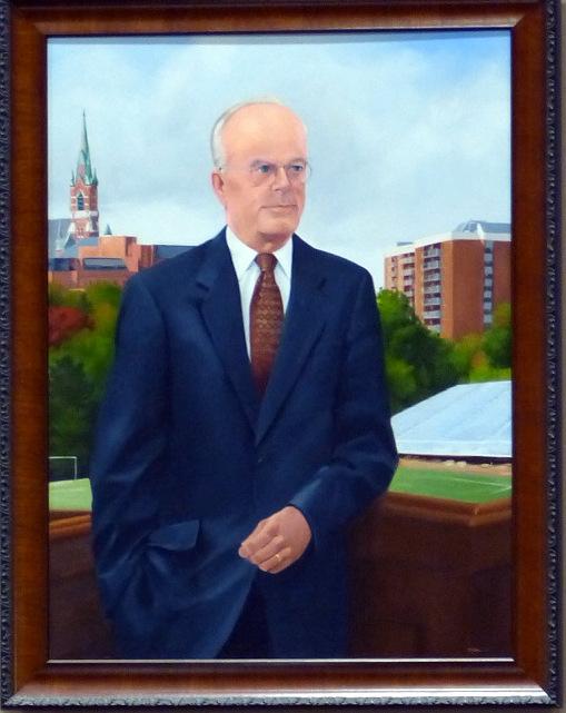 William Cashin Portrait Aldermanic Chamber