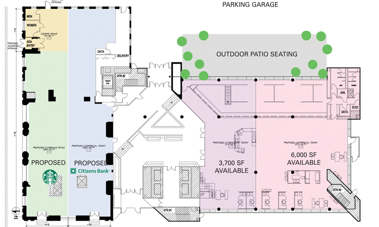 Site plan from Atlantic Retail Properties.