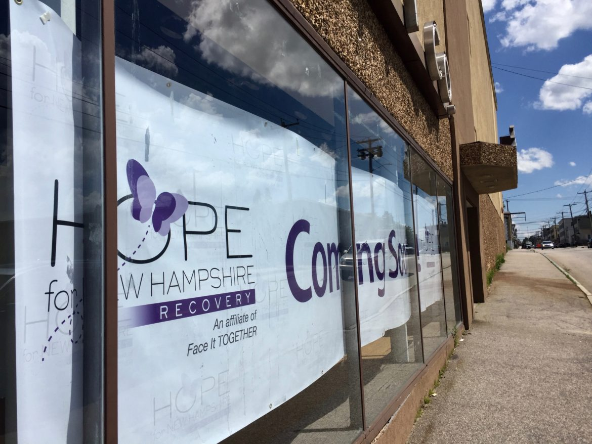 Sign of things to come in Manchester, as Hope for NH Recovery announces the launch of three additional community centers.