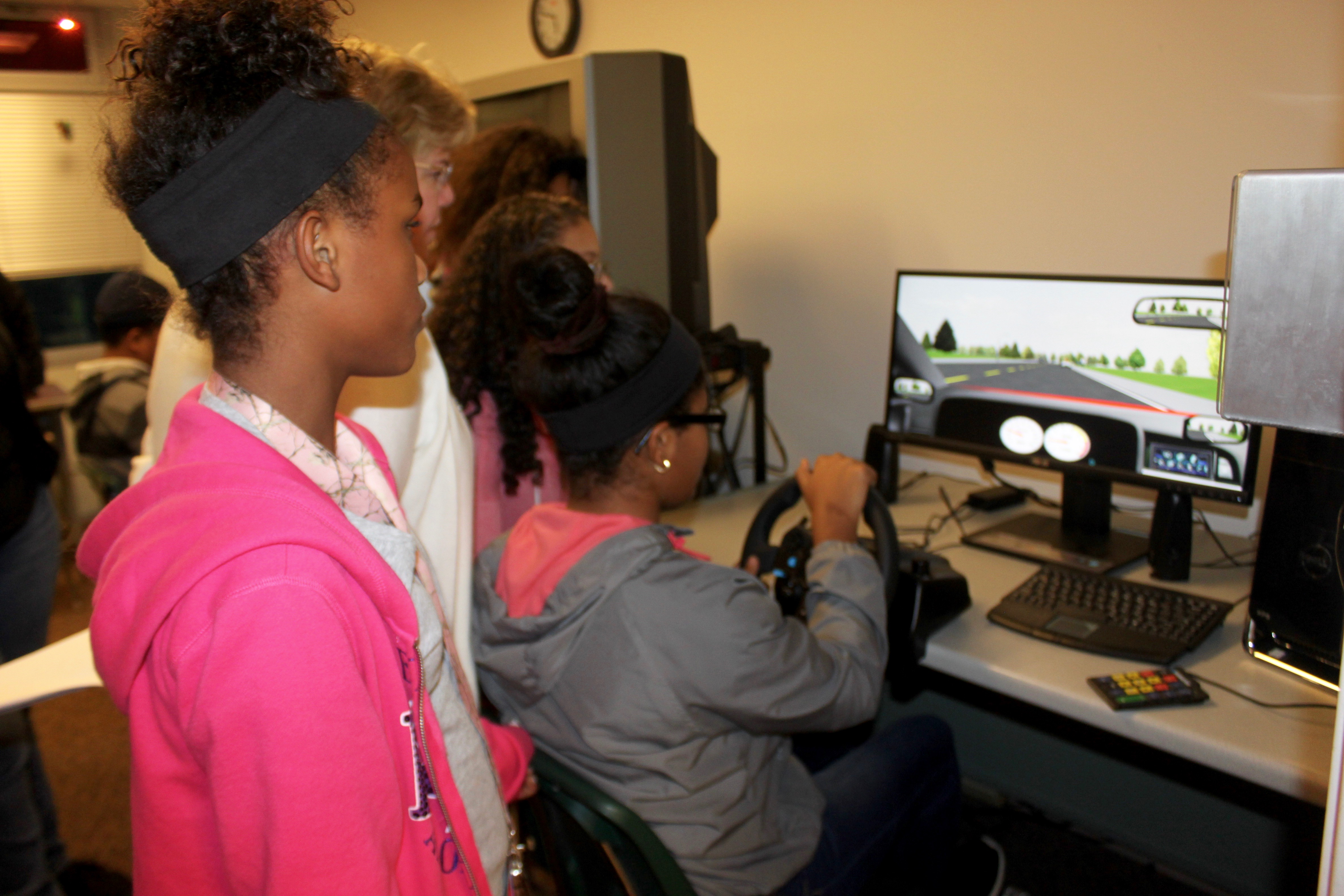Teen Driver Safety: Boys & Girls Club members learn the
