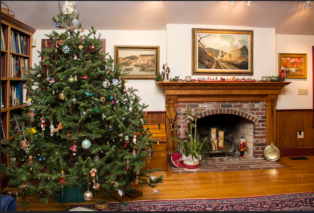 Perfectly Christmas: Scenes from Symphony NH Holiday House Tour 2015.