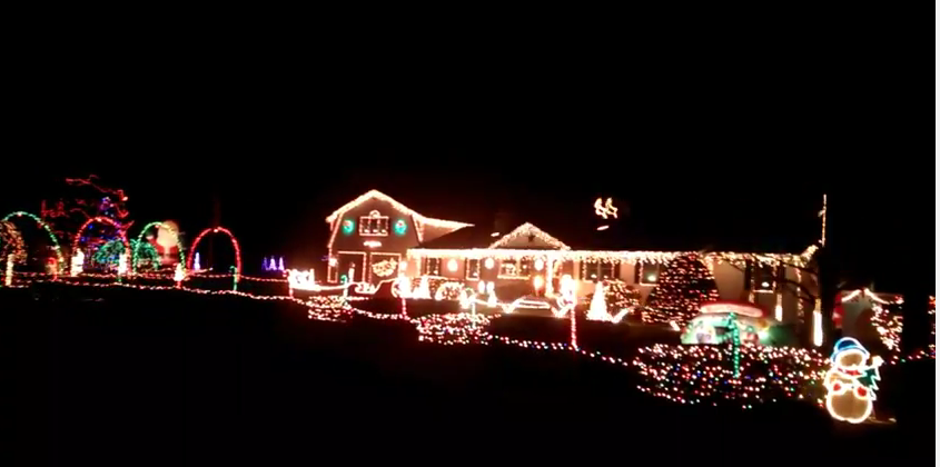 making spirits bright here are some popular drive by christmas light displays manchester ink link