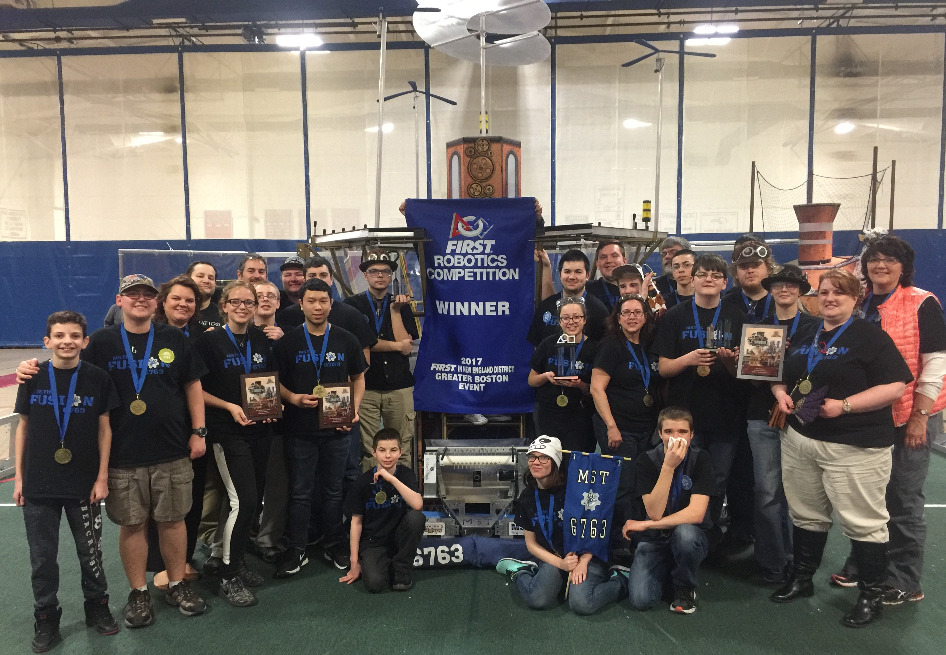 Mst High School S First Robotics Team Takes Top Honors Manchester