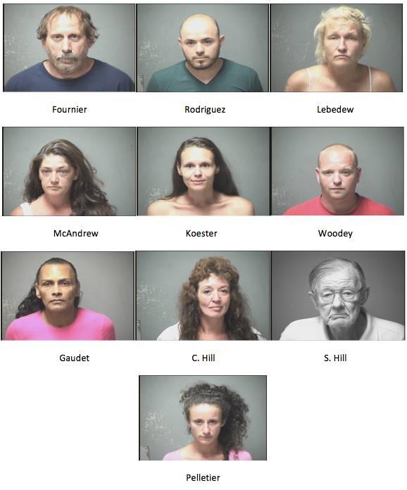 Operation 'Poison Ivy' prostitution sting nets 10 arrests
