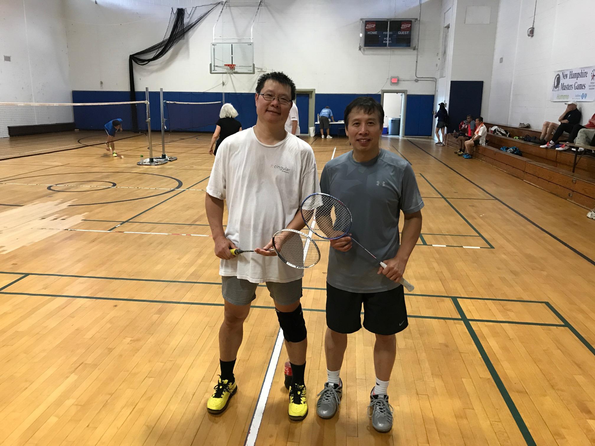 Net Gains 2017 Nh Senior Games Badminton Tourney Features