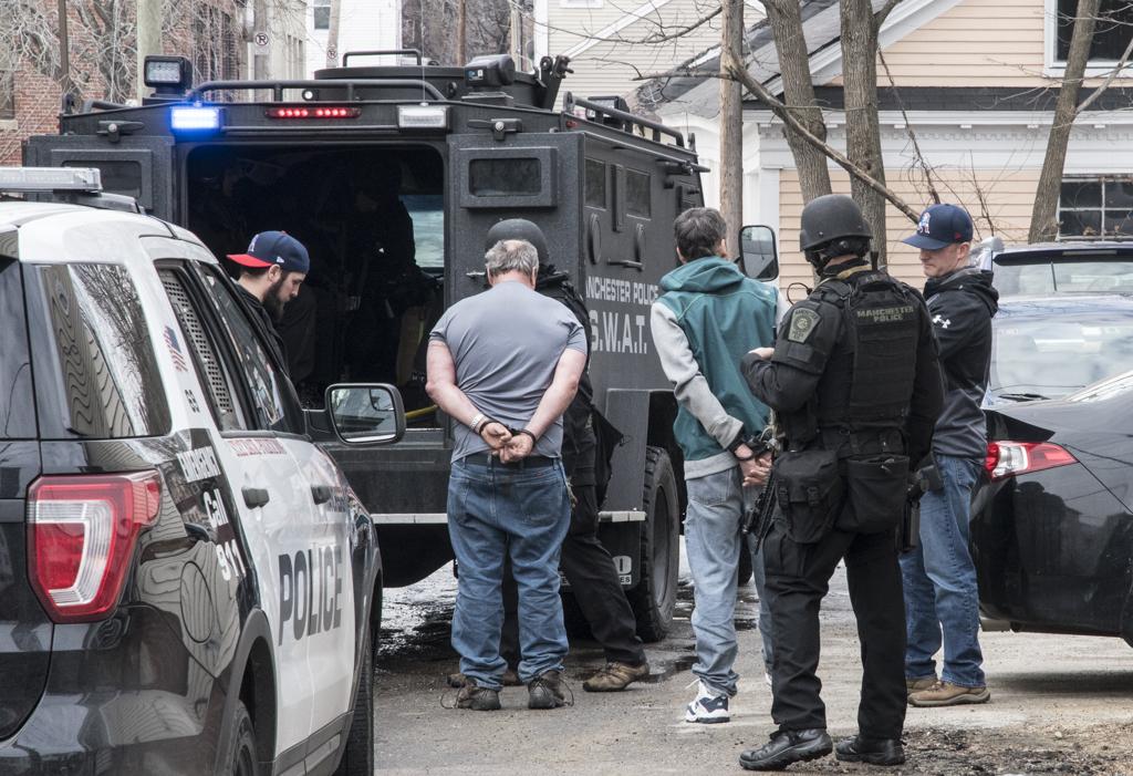 Police arrest 13 during Operation Granite Shield drug sweep