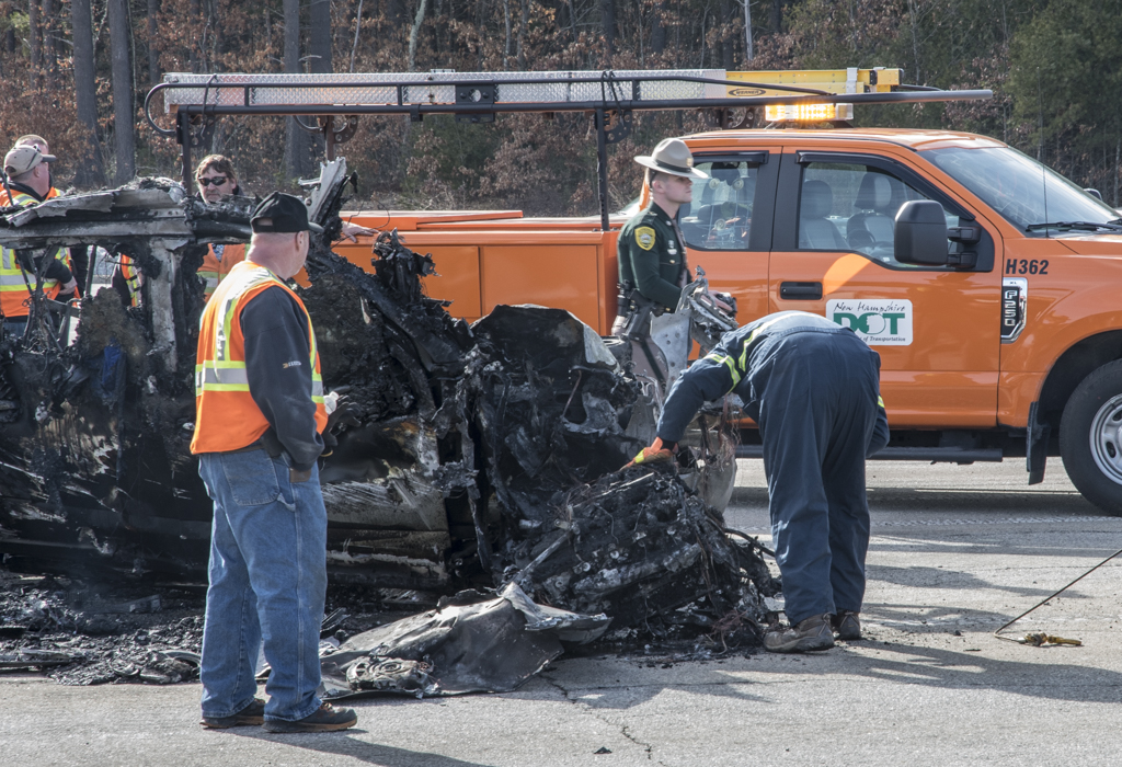 Driver in fatal crash identified as Bow man   Manchester Ink