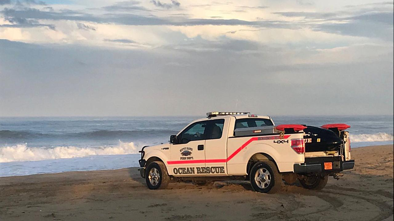 Search turns to recovery for child swept away by wave