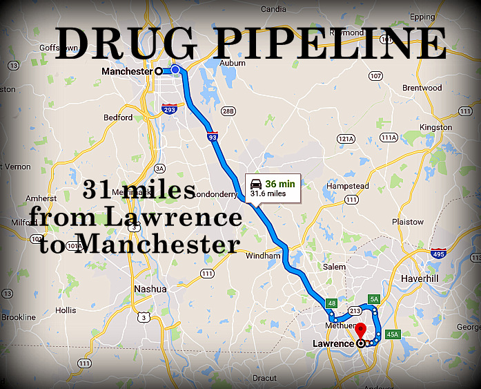 Major bust in the Mass  to NH drug pipeline: 45 arrests, 30