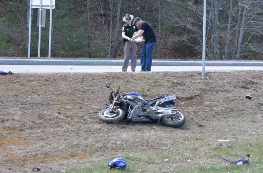 Motorcyclist Dead At The Scene Following I 93 Crash Near Welcome