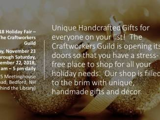 Craftworkers' Guild Holiday Fair