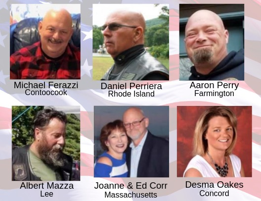 Authorities release names of 7 killed Friday in Randolph