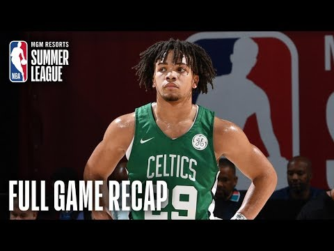 Edwards 20 Points Drives Boston To 1st Summer League Win