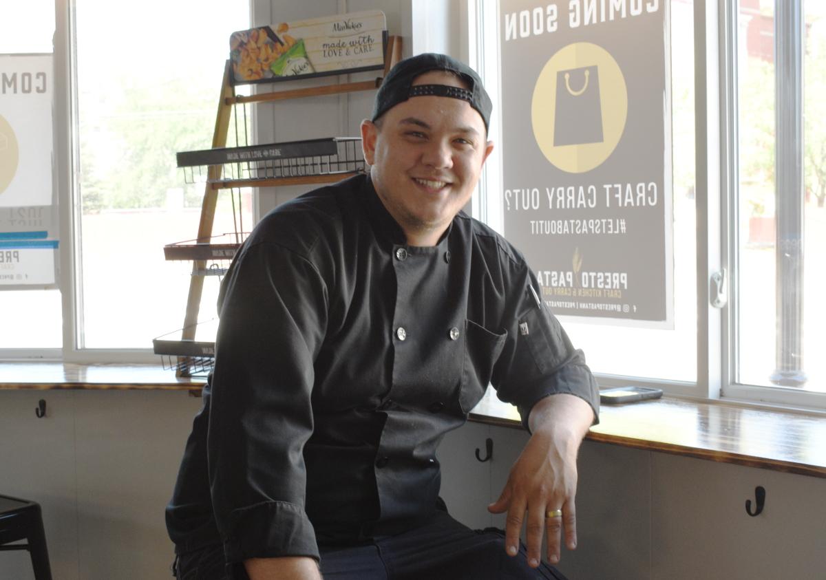 Chef Joe Grella from Presto Pasta