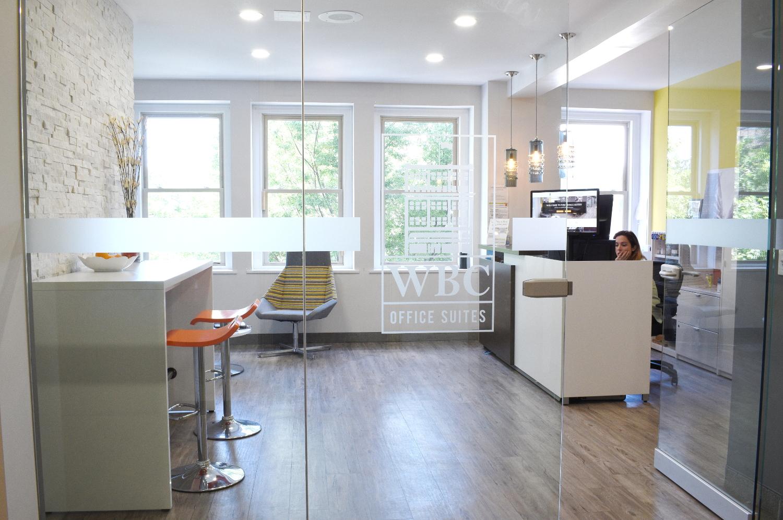 WBC Office Suites - reception area